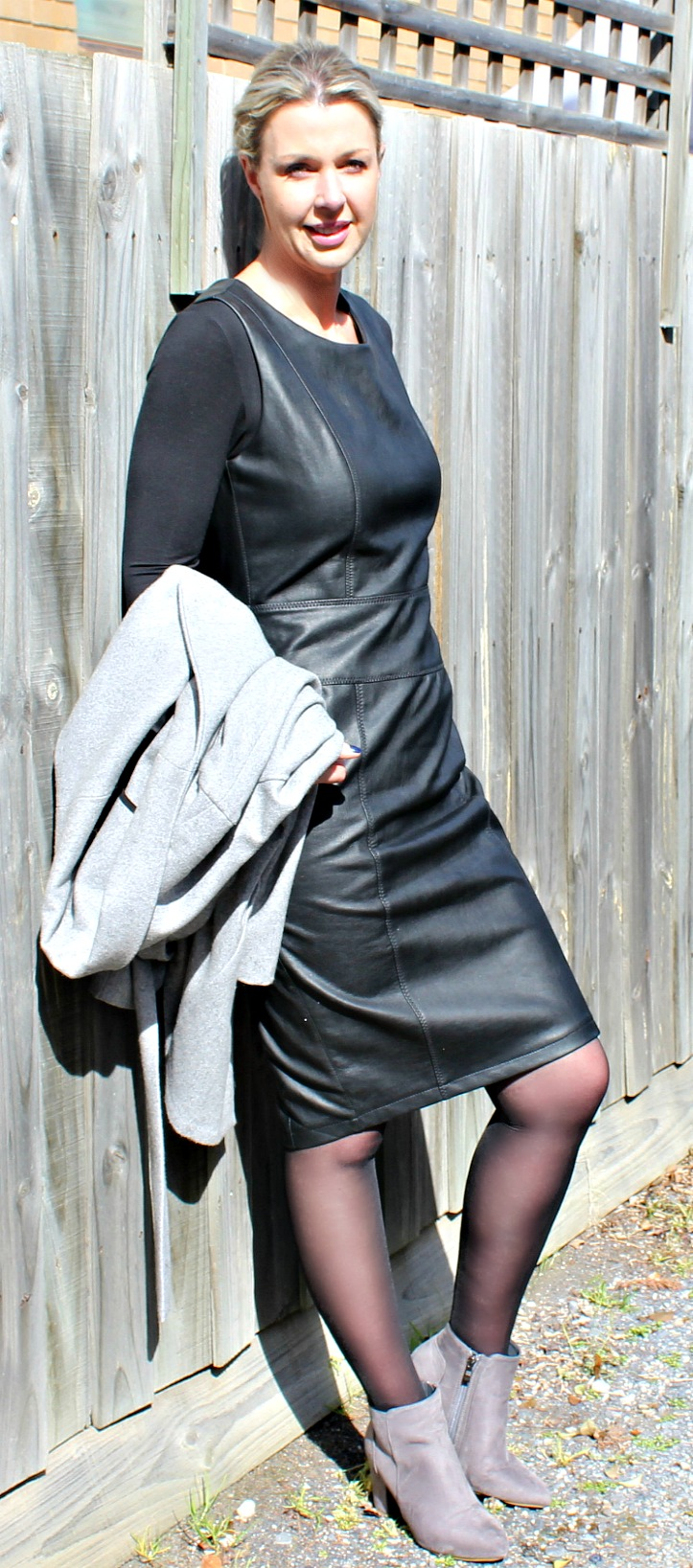 Best Trans Seasonal Vegan Leather Dress