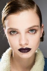Dark Lipstick Trend