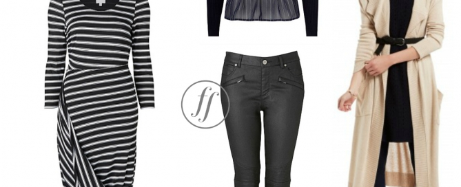 Styling for a rectangle body shape